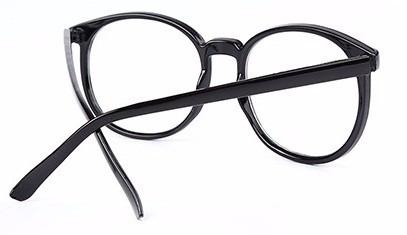 Armação Oculos De Grau Redondo Vintage Geek Unissex - R  44,90 em ... 038f62daef