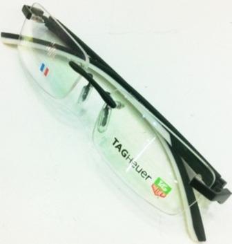 6f5b293074822 Armação Oculos De Grau Sem Aro Th0843 Preto Branco Silicone - R  91 ...