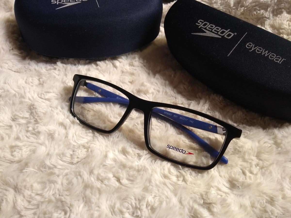 Armação Óculos De Grau Speedo Omoplata Sp6083 100% - R  199,00 em ... 061c6b115b