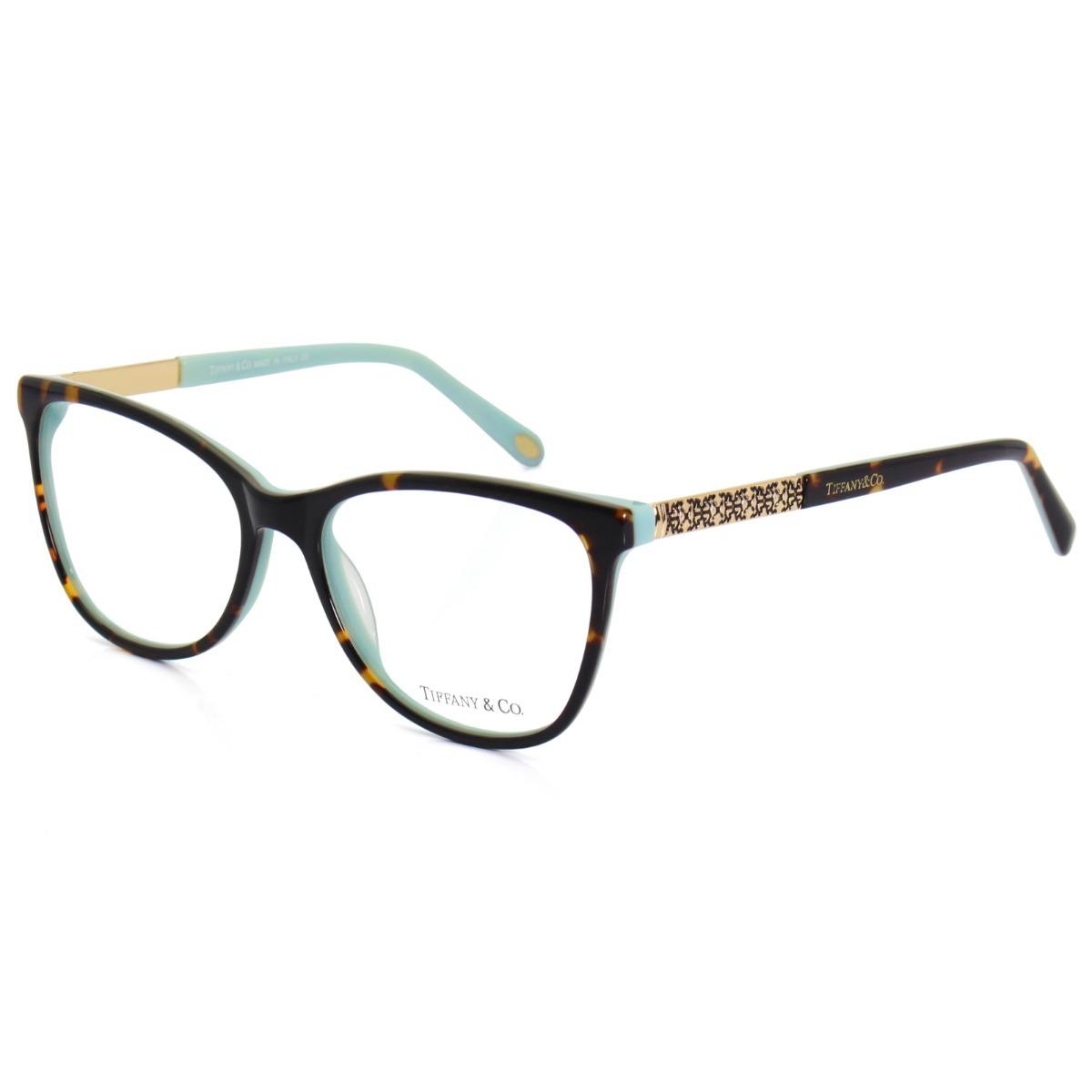 40f47a8becdbd Armação Oculos De Grau Tiffany   Co. Tf2099 Acetato - R  129