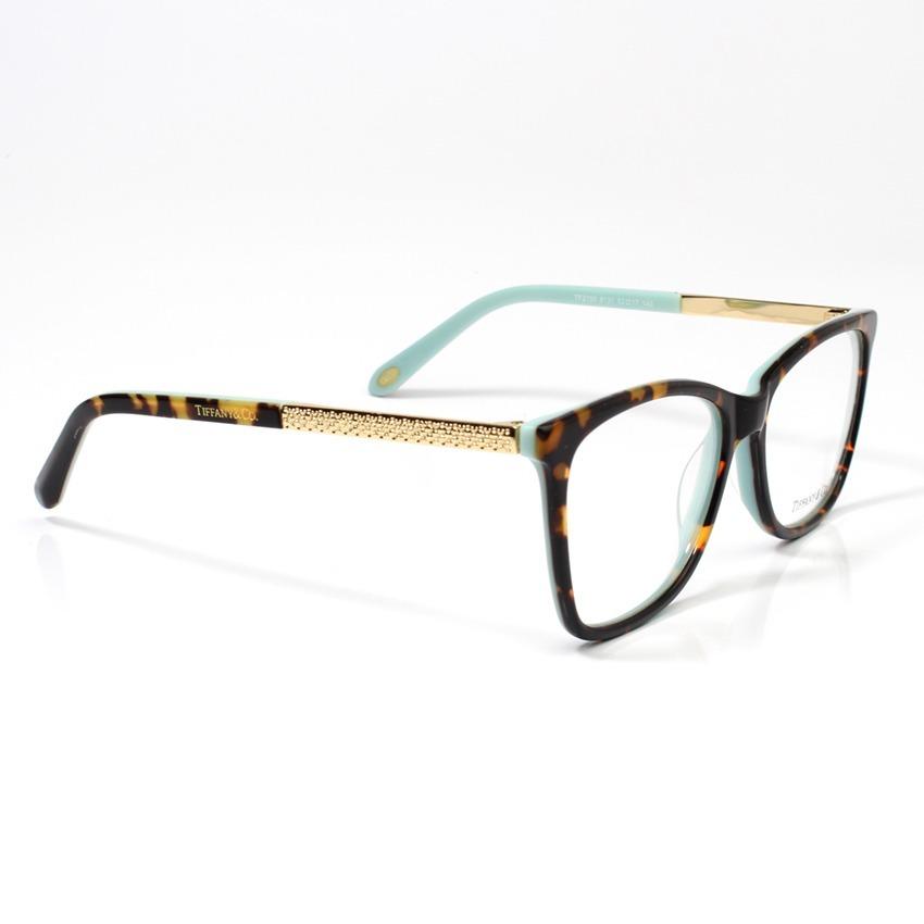 763c262e369c6 Armação Oculos De Grau Tiffany   Co. Tf2099 Kit Azul - R  239,00 em ...