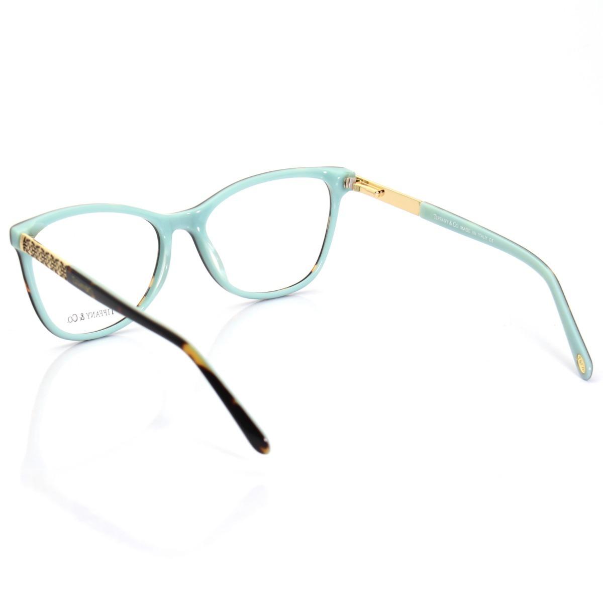 Armação Oculos De Grau Tiffany   Co. Tf2099 Kit Azul - R  239,00 em ... 457ecd9adb