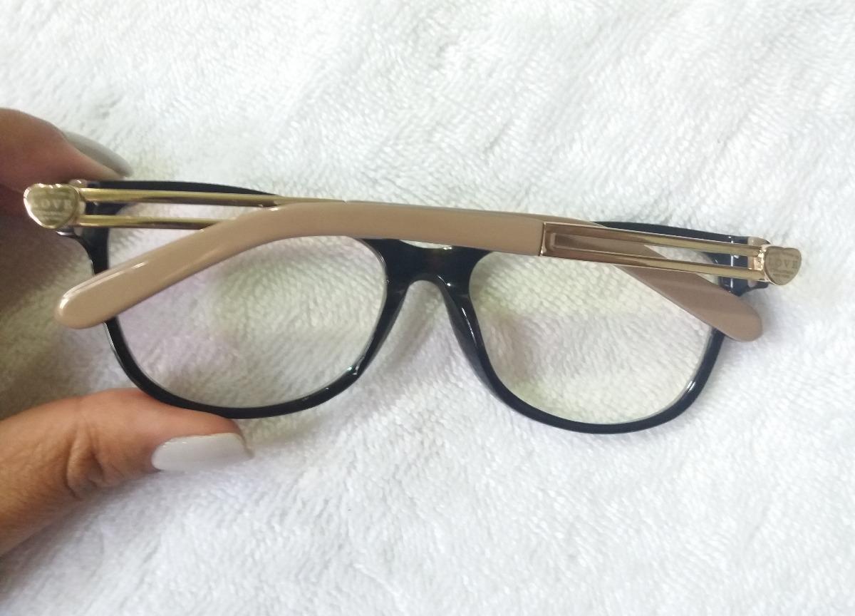6d36fbb22c83e armação óculos de grau tiffany love + brinde especial! Carregando zoom.