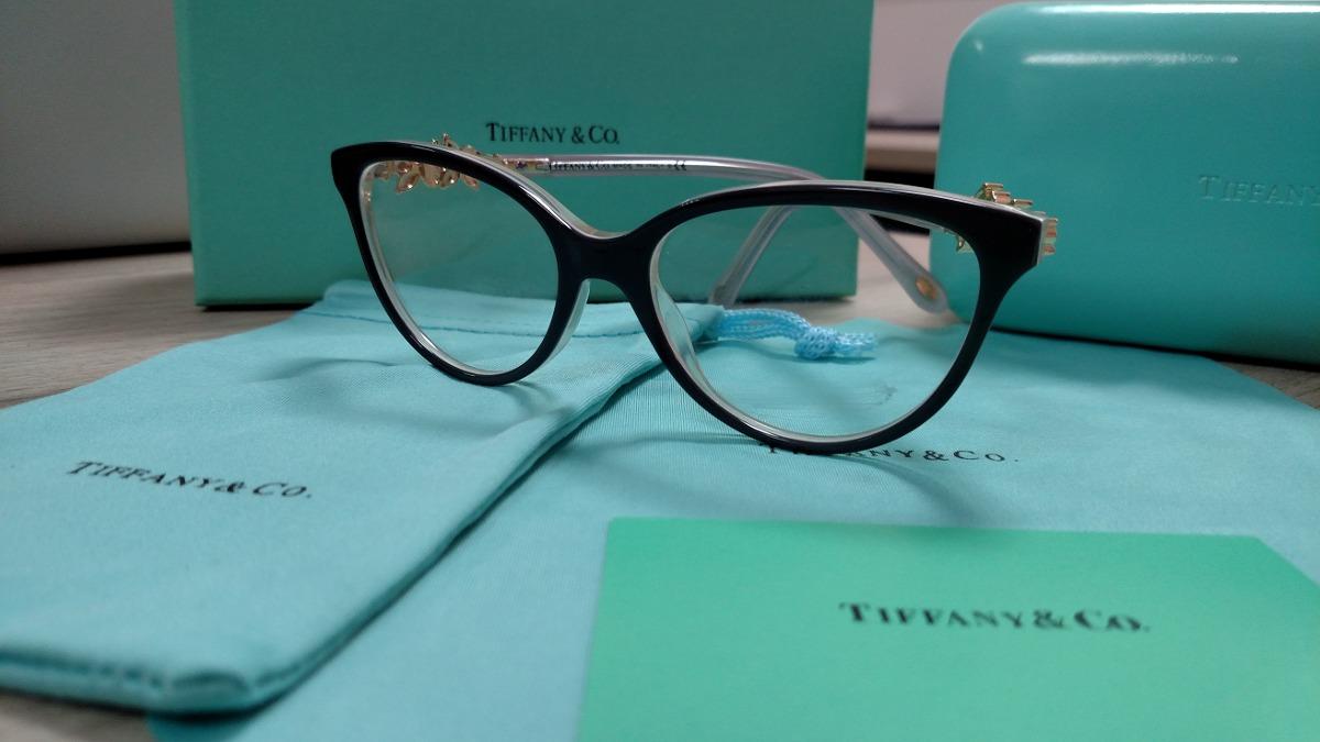 armação óculos de grau tiffany tf2144 preta frete grátis. Carregando zoom. f6fb5646d8