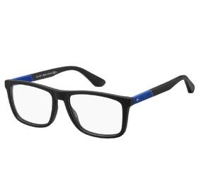 59c00fbdc7 Oculos Feminino De Grau Tommy Hilfiger - Óculos Preto no Mercado Livre  Brasil