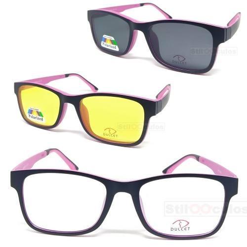 Armação Óculos De Grau Tr90 Clip On Polarizado Mc3223 - R  124,00 em  Mercado Livre 1b8f3450c0