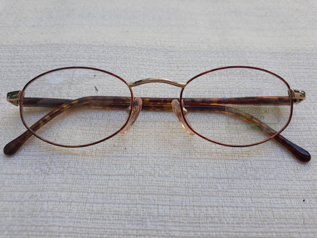 52b8c5619 armação óculos de grau tradicional feminino benetton. Carregando zoom.