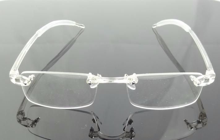 d90010ce73f32 Armação Oculos De Grau Transparente Sem Aro Discreta - A776 - R  79 ...