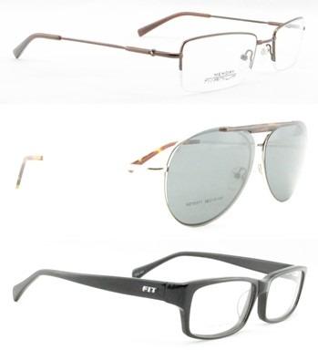 7f485db8e Armação Óculos De Grau Vários Modelos Feminino / Masculino - R$ 49 ...