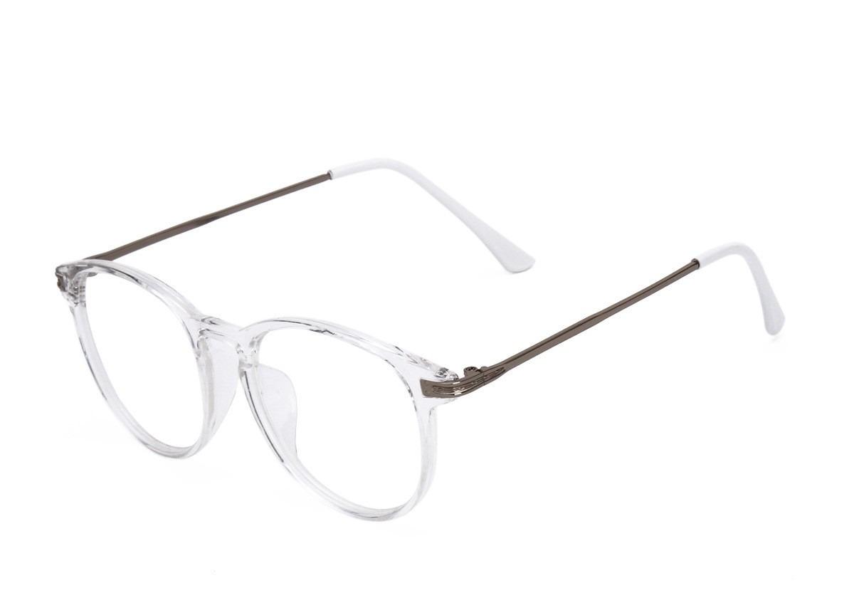 Armação Óculos De Grau Vintage Acetato Transparente - R  139,86 em Mercado  Livre 40b1dde108