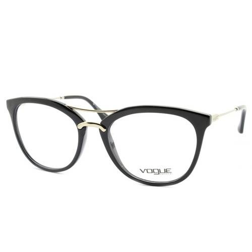 d110a3ade90a2 Armação Óculos De Grau Vogue Feminino Drops Vo5156l W44 - R  348,85 em  Mercado Livre
