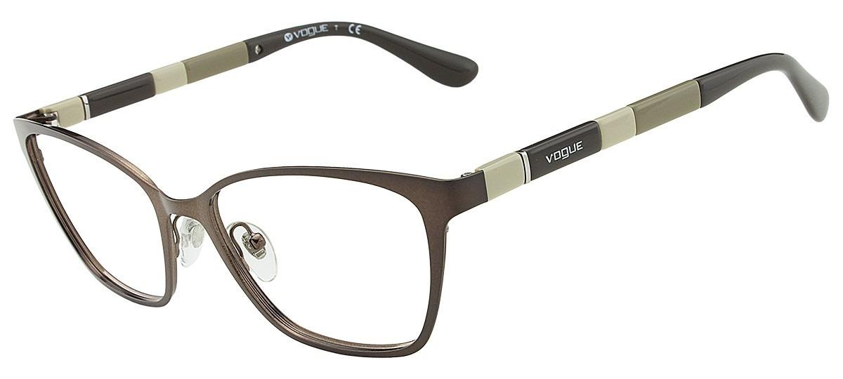 Armação Óculos De Grau Vogue Feminino Vo3975 934 - R  316,55 em ... f99bfafefa