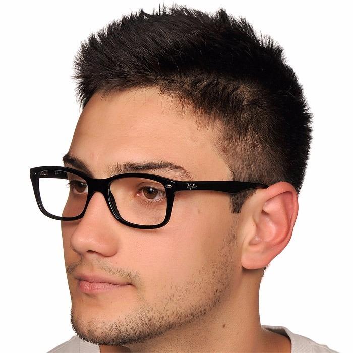 8cb8b90e1 Armação Oculos De Grau Wayfarer Rb5228 Rayban Preto Tartarug - R$ 47 ...