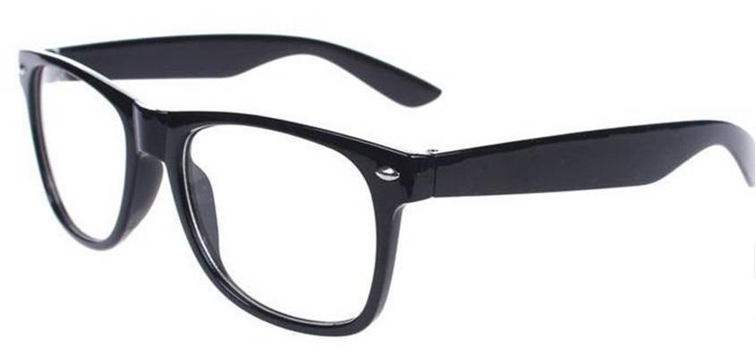 4697caadf75aa armação oculos de grau wayfarer retrô e lentes transparentes. Carregando  zoom.