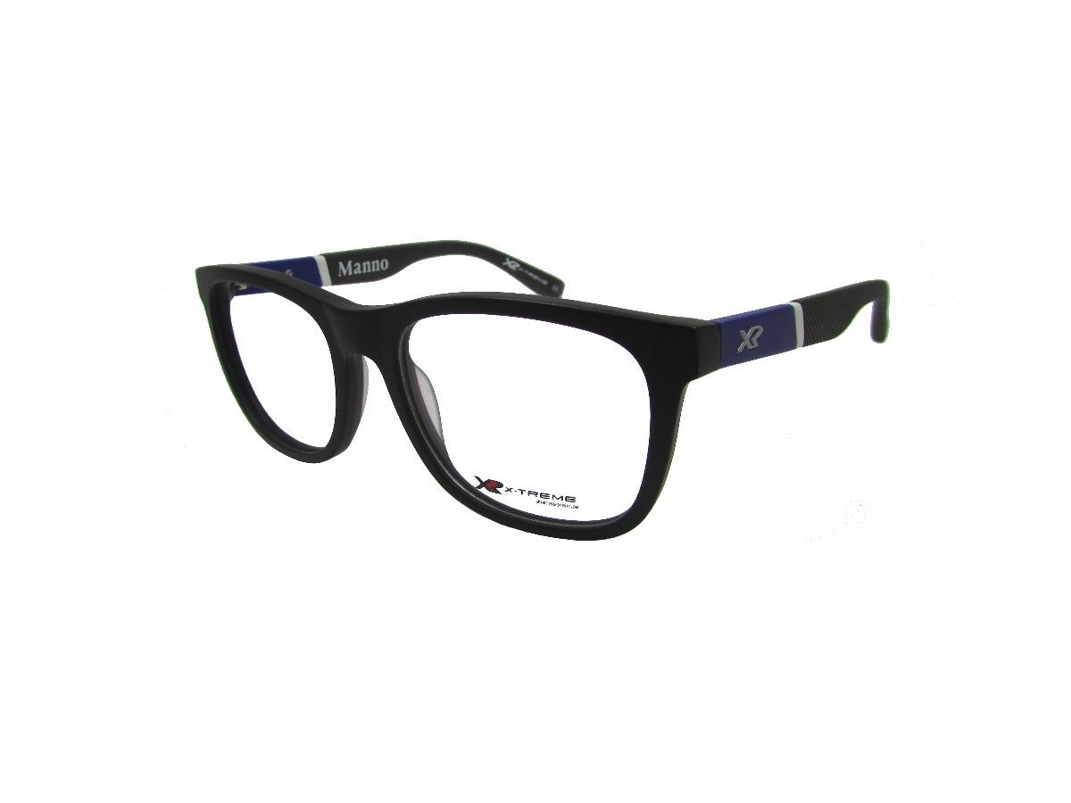armação óculos de grau x-treme manno preto fosco masculino. Carregando zoom. 1282a2d7bb