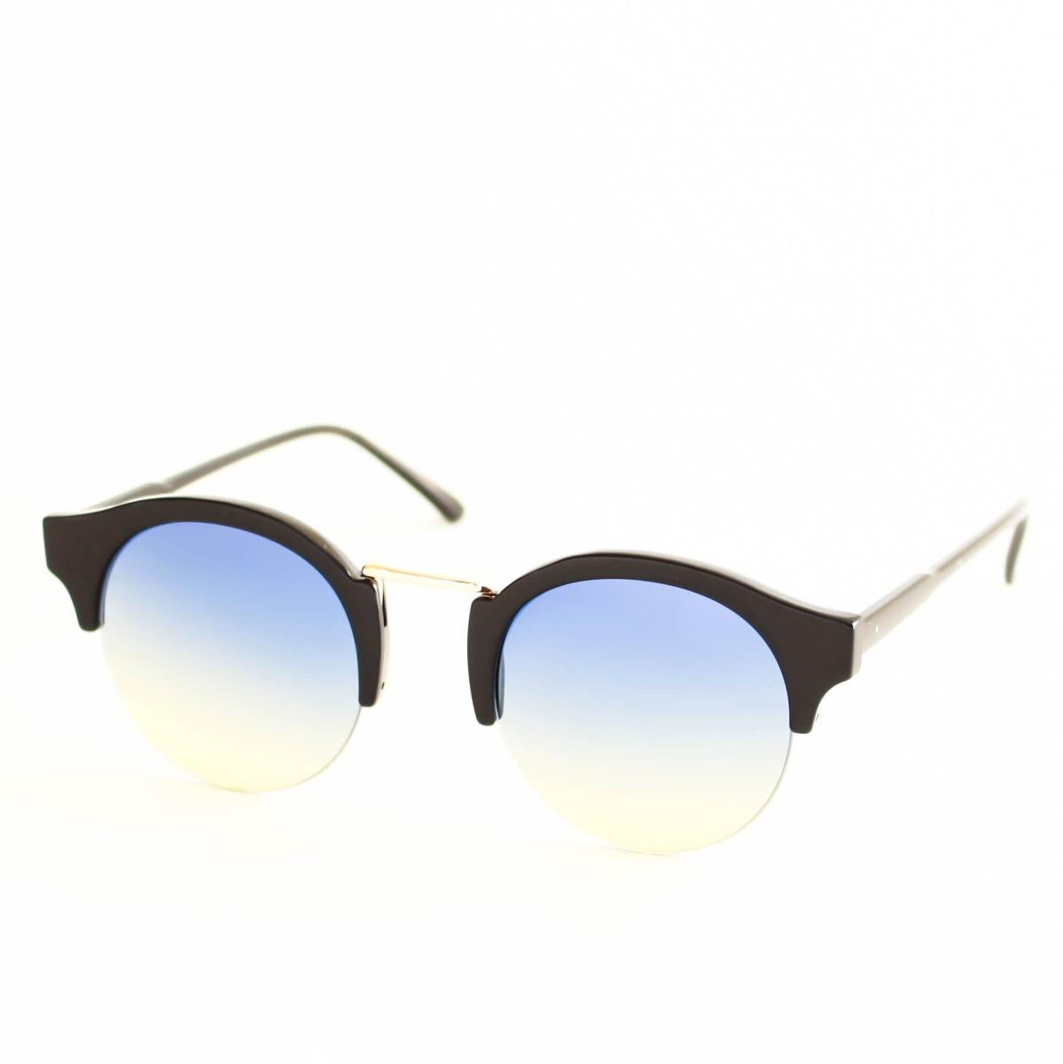 a06c540111213 Armação Óculos De Sol Gatinho Redondo Vintage - R  49,00 em Mercado ...