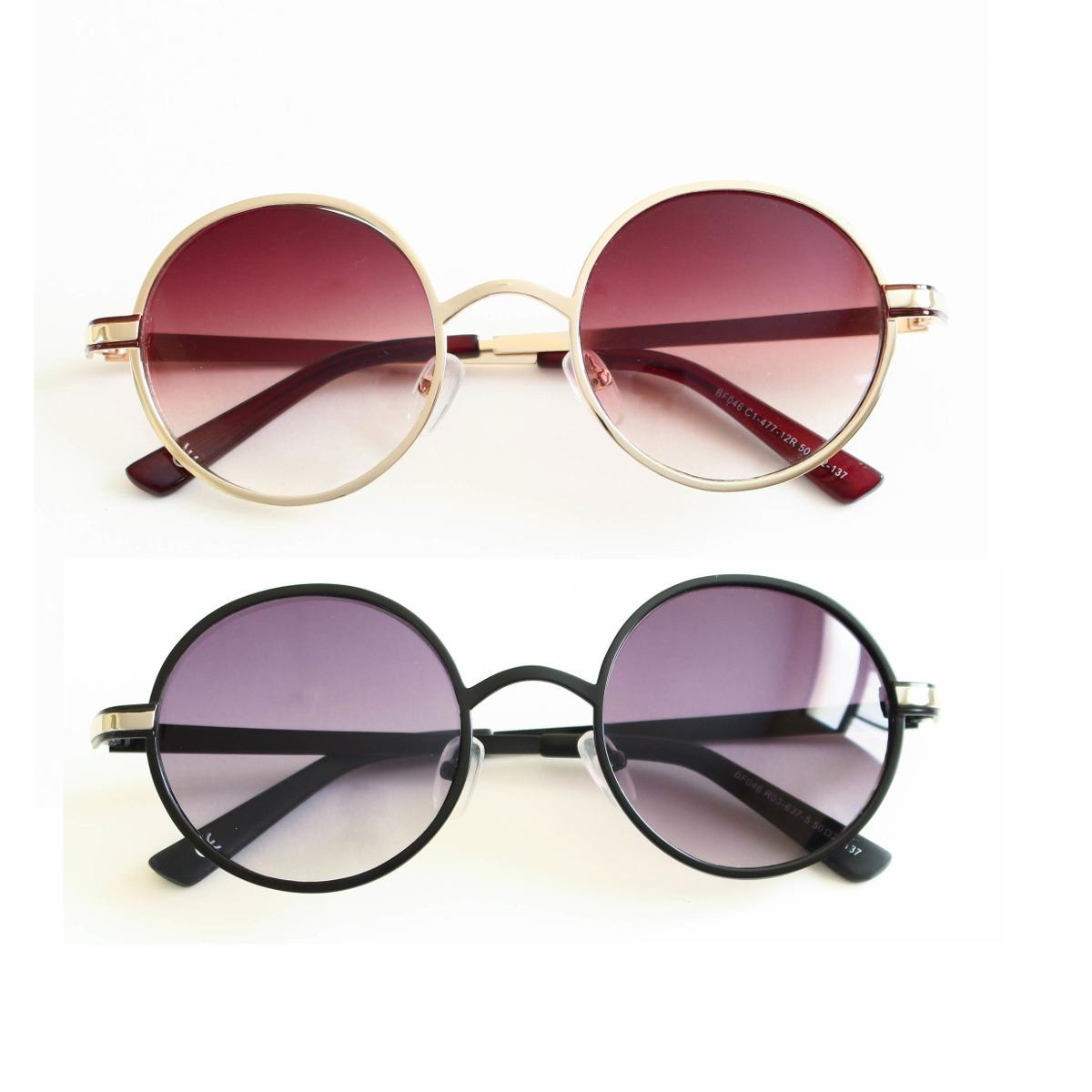 122a5e456 armação óculos de sol redondo vintage - frete grátis. Carregando zoom.