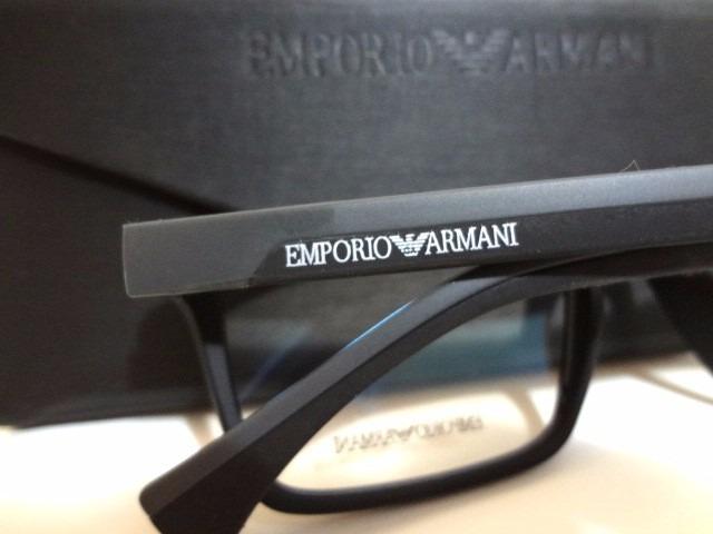 2ba68415c Armação Óculos Ea3034 Masculino + Case - R$ 120,00 em Mercado Livre