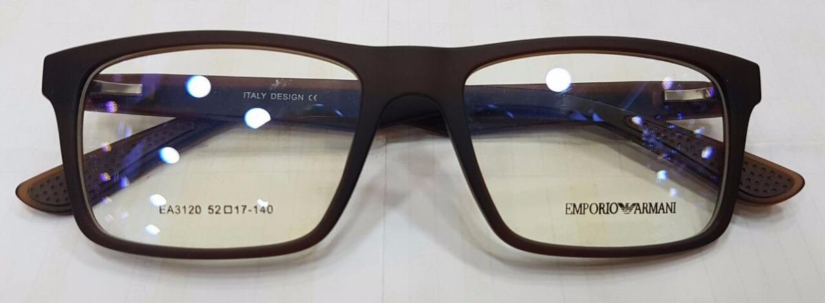 51c7e4de8 armação óculos empório armani unissex ea3120 azul/branco. Carregando zoom.