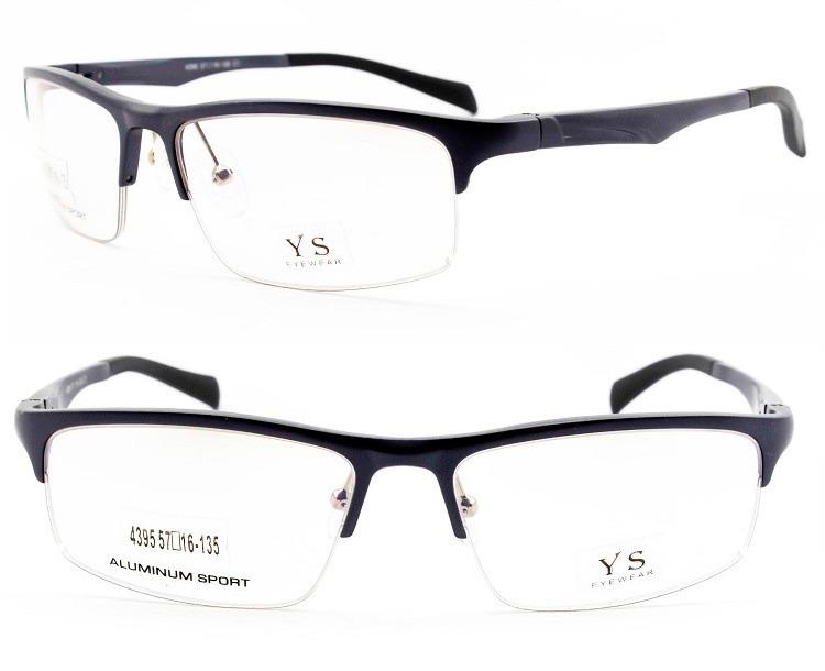 003ad1272 Armação Óculos Esportivo Curvado Em Alumínio P/ Grau - 4395 - R$ 95 ...