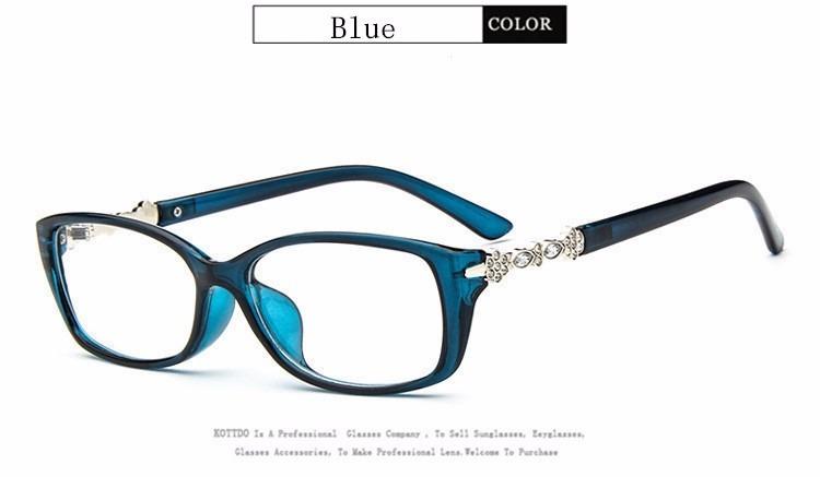 7784511ea04bf Armação Óculos Feminino Acessório Descanso Novo C  Strass Za - R  89 ...