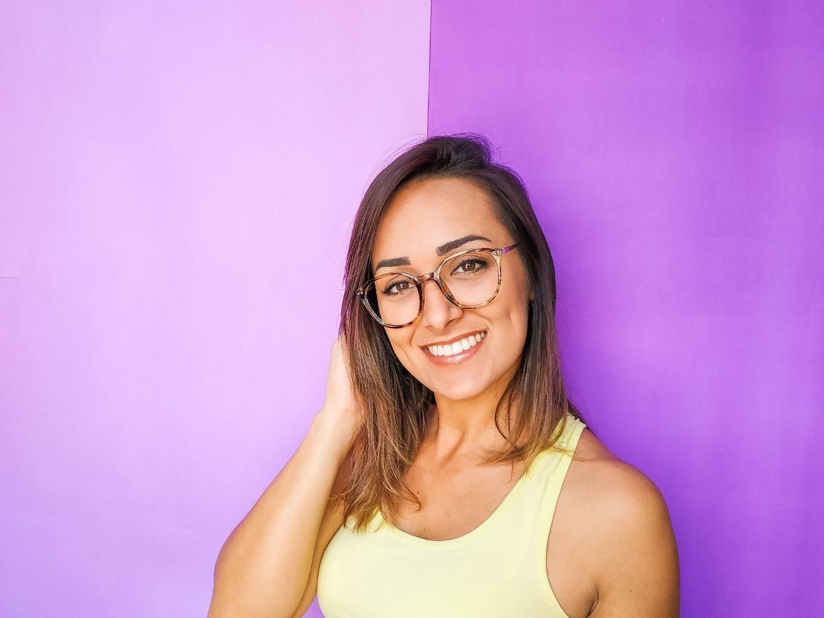 6689a67e2 armação óculos feminino com lentes s/ grau fy110. Carregando zoom.