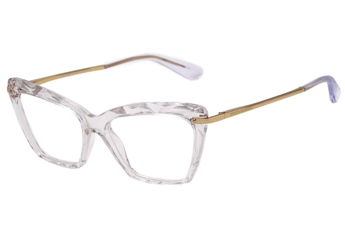 42143f62e2879 armação óculos feminino gatinho dg5025 diamante transparente. Carregando  zoom.