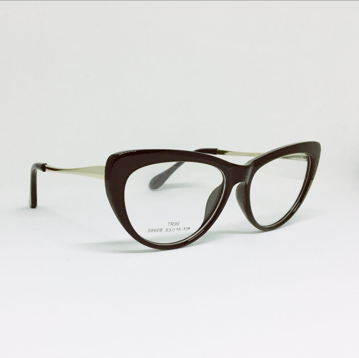 armação óculos feminino gatinho geek retro cores + brinde. Carregando zoom. 5c34c3d422