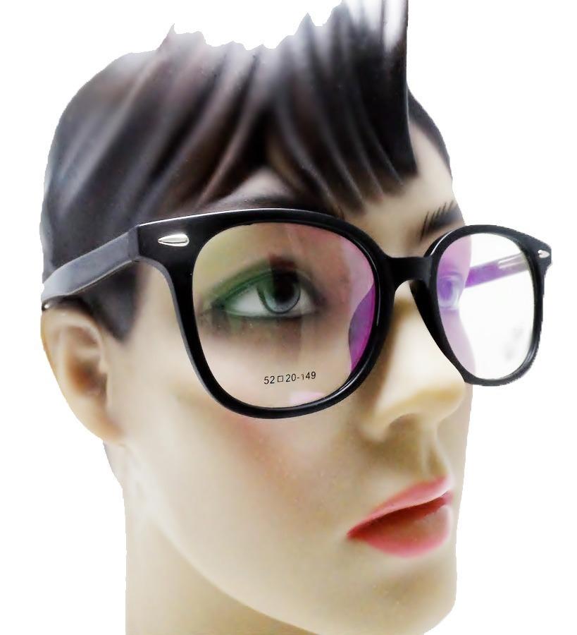 3012a4915d2de armação oculos feminino grande preto redondo sem grau barato. Carregando  zoom.