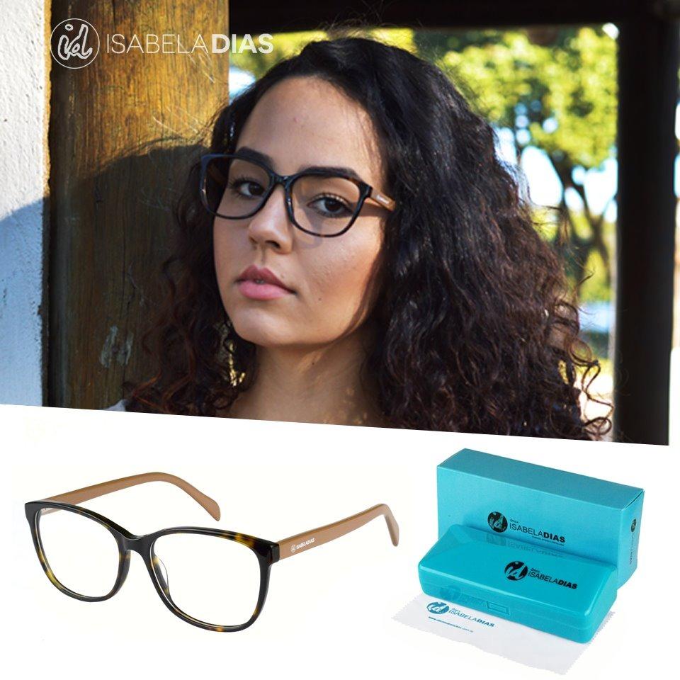 154313b94 armação óculos feminino grau acetato original isabela 6084. Carregando zoom.