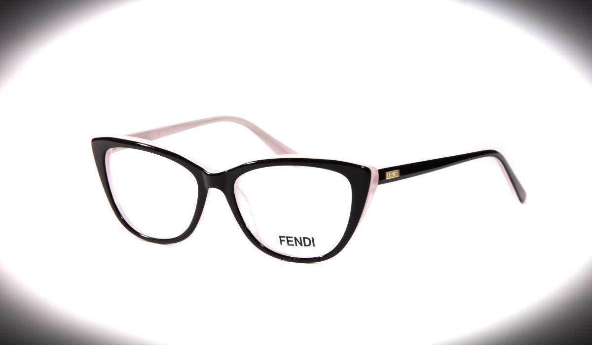 36eb64d4f9967 armação óculos feminino grau fendi gatinho acetato original. Carregando  zoom.
