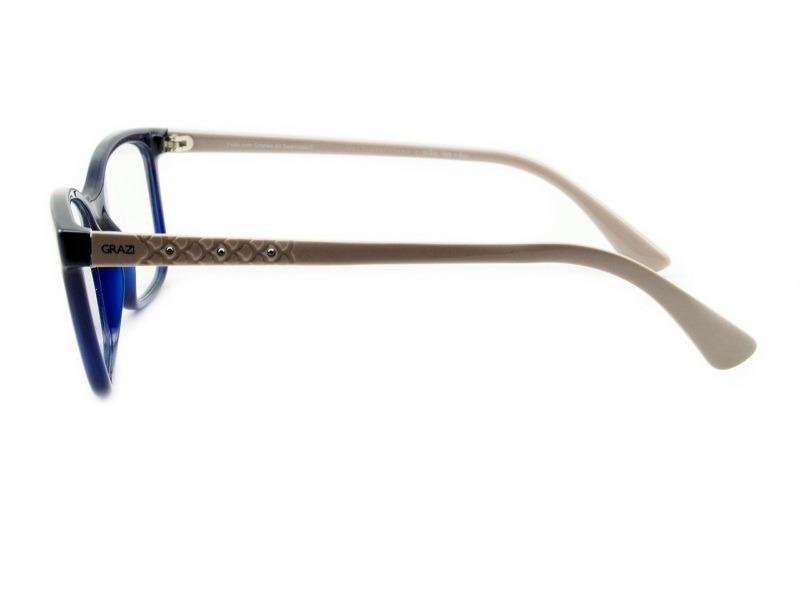 armação óculos feminino - grazi massafera gz 3031b e799 53. Carregando zoom. 4e59f9557e
