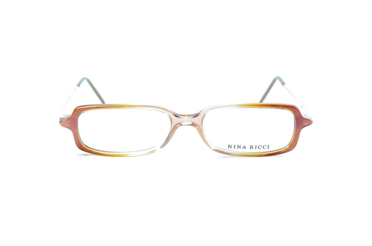 f94511139a3cf Armação Oculos Feminino Nina Ricci Acetato - R  39,00 em Mercado Livre