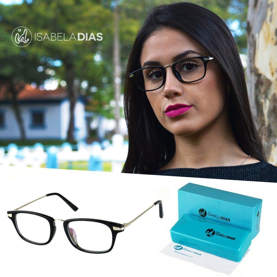 96004908c armação óculos feminino original acetato isabela dias 6042. Carregando zoom.