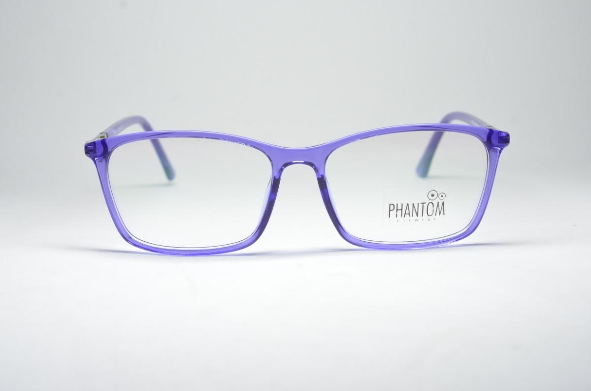 14a49801d5fd2 Armação Óculos Feminino Quadrado Degradê Resistente Acetato - R  79 ...