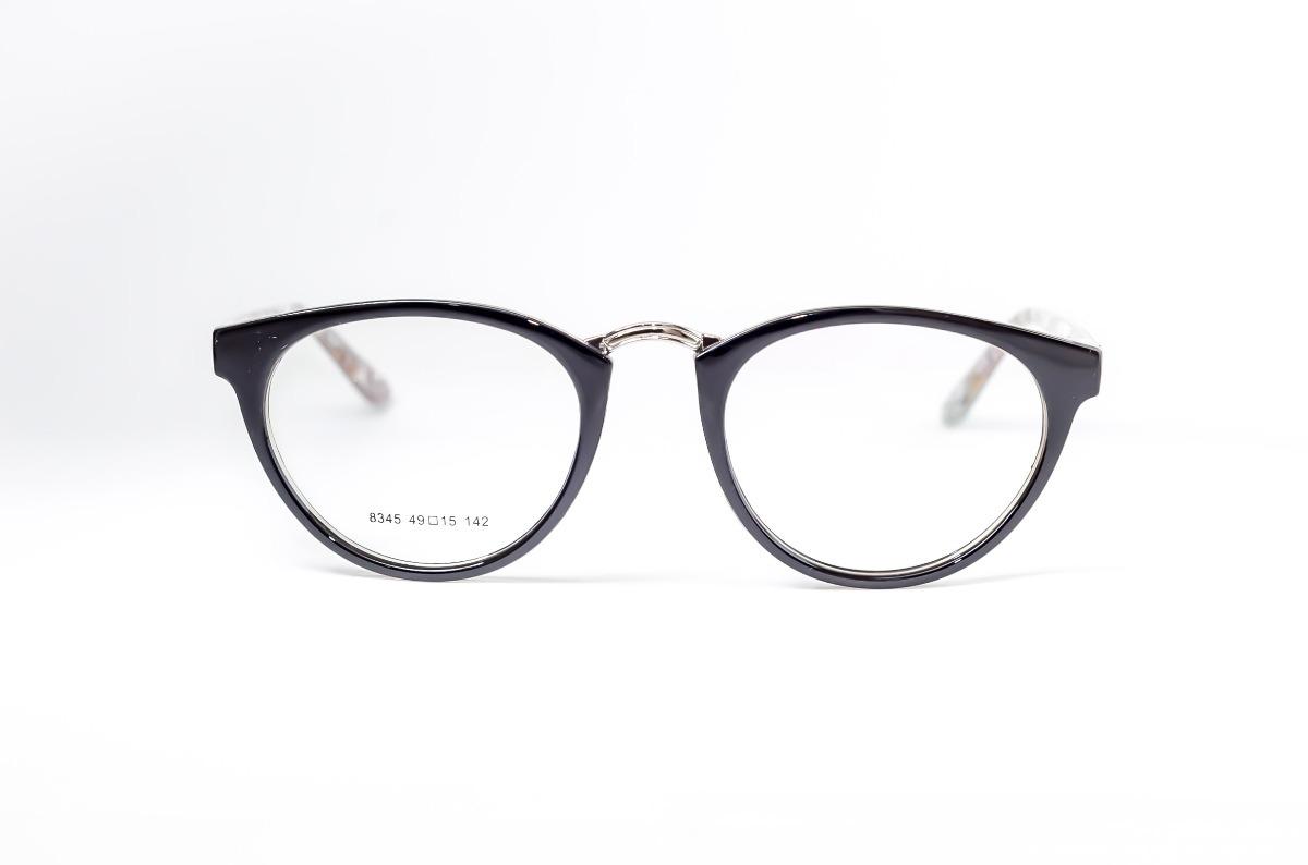 armação oculos feminino redondo preto modinha corujinha. Carregando zoom. 8d37368465