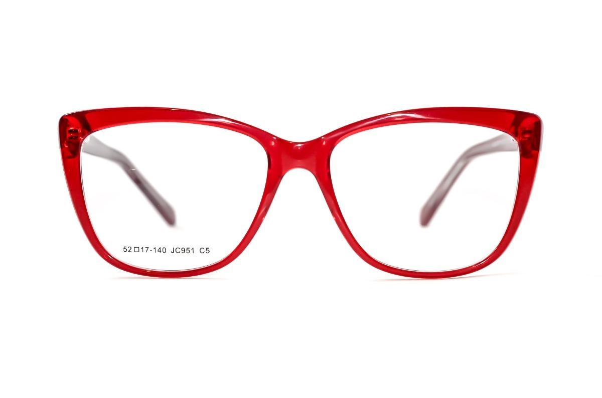 3c56369f69df2 armação óculos feminino vermelho gatinho quadrado grande. Carregando zoom.
