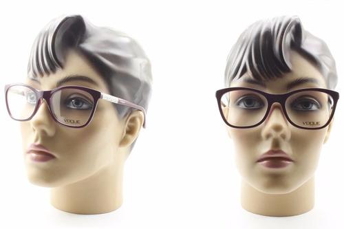 55e13aae5 Armação Óculos Feminino Vogue Lançamento Original - Vo5020 - R$ 299 ...