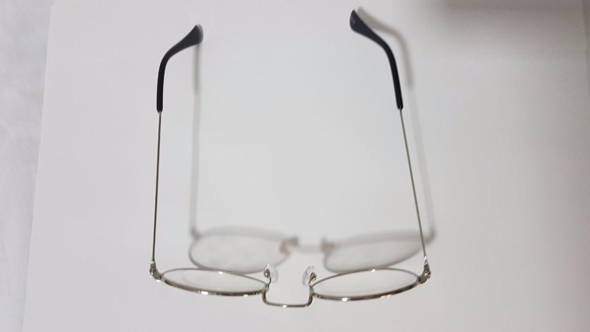 b90d0f70f3ca2 armação óculos fina unissex 18404 - prata desconto atacado. Carregando zoom.