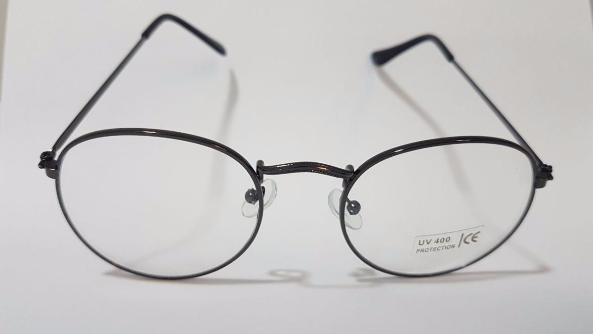 99900c2acf099 armação óculos fina unissex 18404 - preto desconto atacado. Carregando zoom.