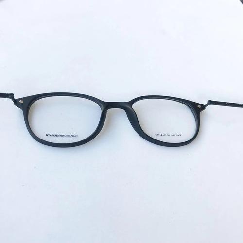 0495e40c9eb18 Armação Óculos Gatinho Redondo Titânio Masculino E Feminino - R  120 ...