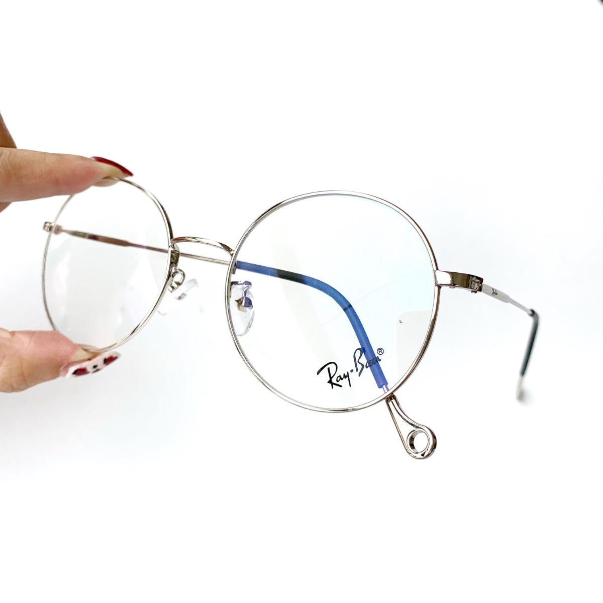 833bee1a38c12 armação oculos gatinho round redondo vintage retro metal. Carregando zoom.