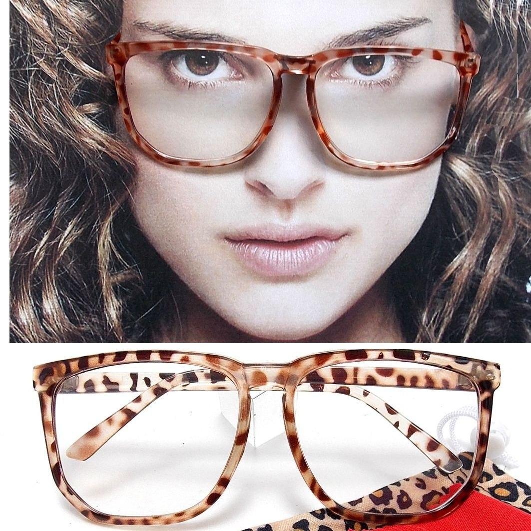 Armação Óculos Geek Quadrada Square Leopardo - R  48,00 em Mercado Livre 0f01581403