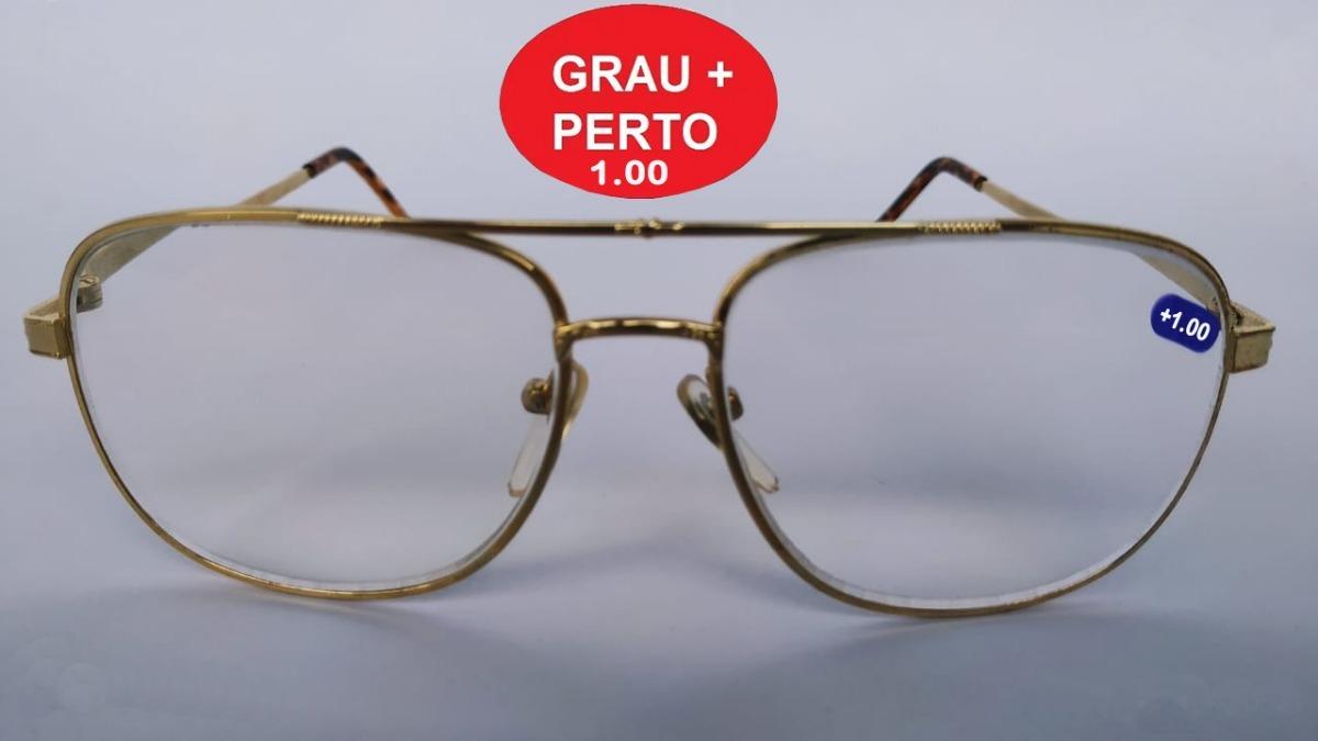 c3cab2fd333ce armação óculos grau (+1.00) para leitura perto   disponível. Carregando  zoom.