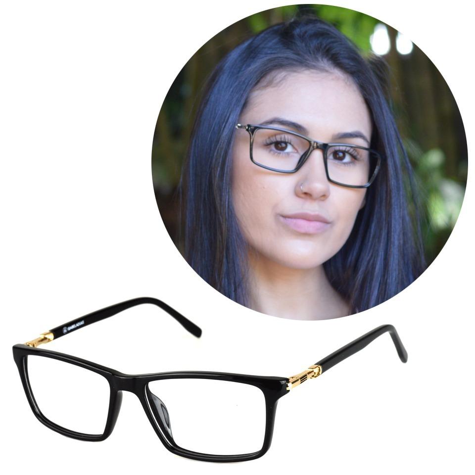 3b39ab763 armação óculos grau acetato feminino básica isabela dias 167. Carregando  zoom.