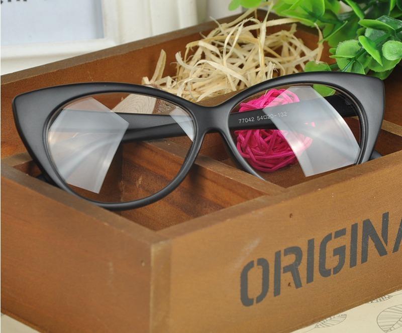 9155f0ed8540d armação óculos grau acetato gatinho cat eye 40% off + brinde. Carregando  zoom.