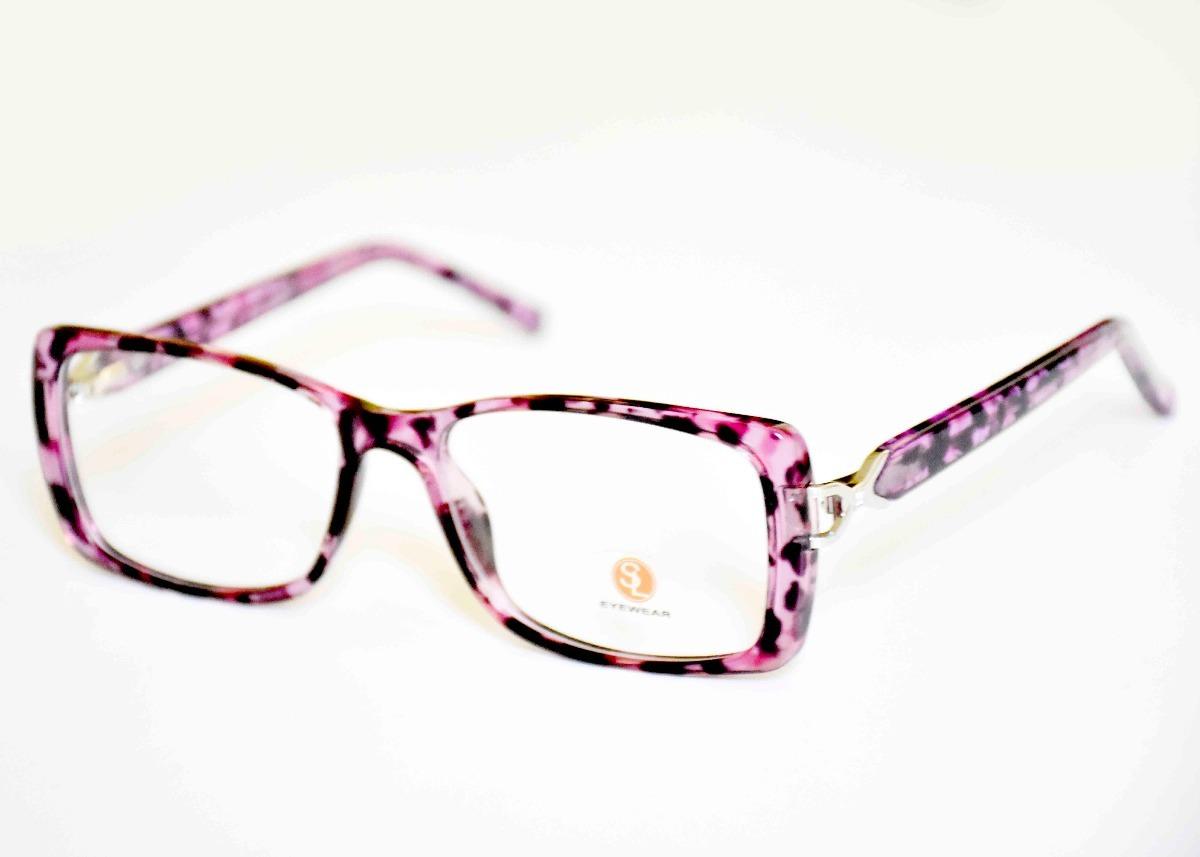 9afcefd322da3 armação óculos grau acetato novo original feminino sl7052. Carregando zoom.