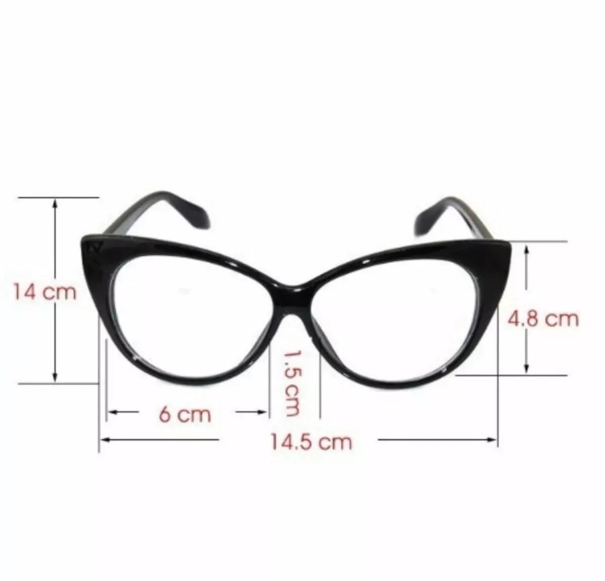 armação oculos grau ana estilo gatinha + brinde lente perto. Carregando  zoom. 0b1db9fcfa