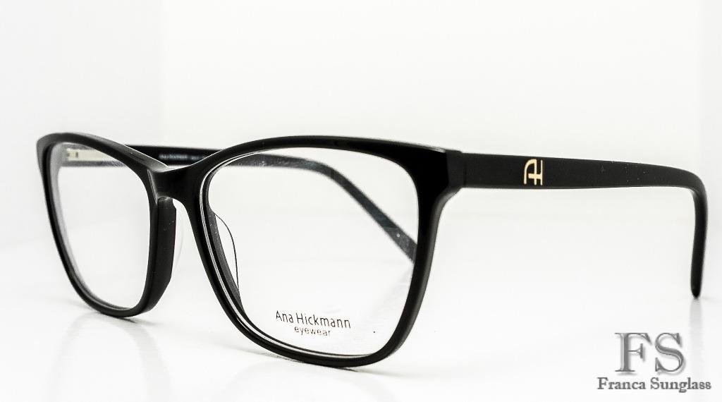 armação óculos grau ana hickman acetato feminino frete g. Carregando zoom. 2b8bba1e4c