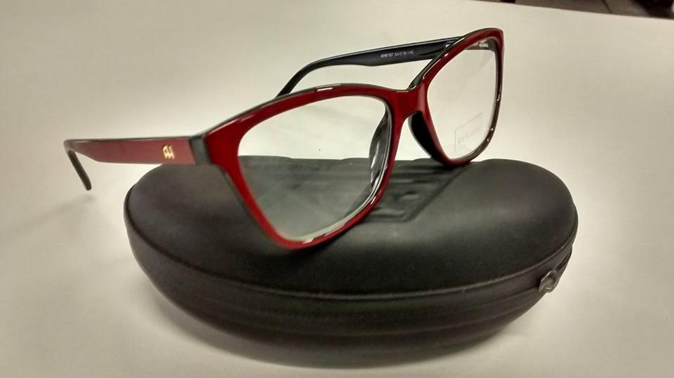armação óculos grau ana hickman barata,estilo gatinho linda. Carregando  zoom. 5f72484810